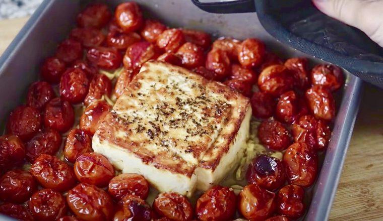 Feta pasta (TikTok recept)